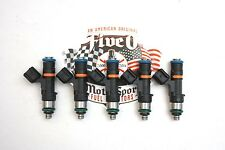 5, EV-14 650 cc Fuel Injectors, Volvo, Ford Focus, MK2 RS, Flow Matched, 16-hole