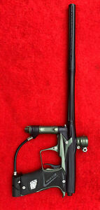 Planet Eclipse Geo 3 Dark Olive & Black With 2 Barrels- Very Good Condition