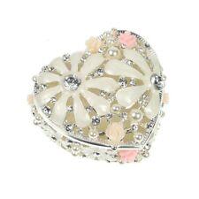 Decorative Heart Shaped Trinket Pot (84-SP1668)