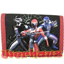 Power Rangers Kids Trifold Wallet, New