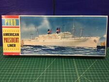 """Pyro American President Liner SS Wilson Or SS Cleveland Model Kit (Complete18""""L"""