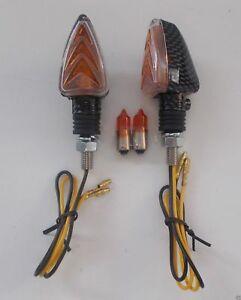 Frecce Carbon Corte 62x31 Lampadine MOTO GUZZI G5 1000 - Griso 850/1100