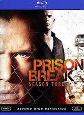 Prison Break - Season 3 (Blu-ray Disc, 2008, 4-Disc Set, Checkpoint Sensormatic