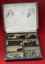 Antique Parker Lucky Courve Repairing Service Kit Box, USA (#44)