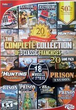 Franchise Collection: Hunting Unlimited, 18 Wheels of Steel, Prison Tycoon - New