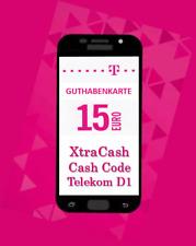 Telekom Xtra Cash / Cash-Code  15,00 EUR Guthaben