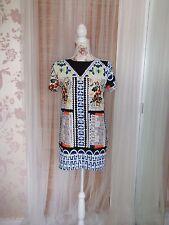 Glamorous Ladies Size XS Multi Coloured Tunic Summer Dress
