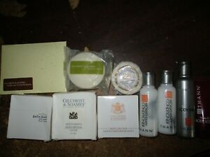 (LOT 10) THANN AROMATIC WOOD (4) + GILCHRIST & SOAMES (6) travel items