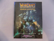 WarCraft The Role Playing Game Manual of Monsters