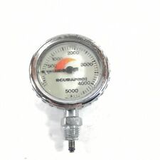 Scubapro Brass 5000 PSI SPG Submersible Pressure Gauge 5,000 #1463