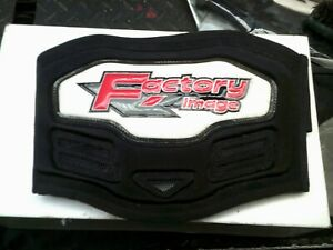nos factory image childs mx  kidney back belt xs