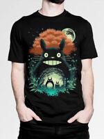 My Neighbor Totoro Art T-Shirt, Studio Ghibli Hayao Miyazaki Tee