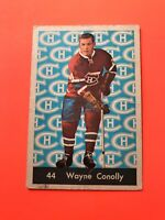 Wayne Conolly 1961-62 Parkhurst Hockey Card #44  See Photos for Condition