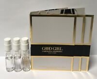 3 Carolina Herrera Good Girl Legere EDP Spray Sample Vial 1.5 ml/0.05 oz Travel