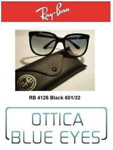 Occhiali da Sole RAYBAN CATS 1000 Ray Ban 4126 601/32 ORIGINALI Sunglasses gafas
