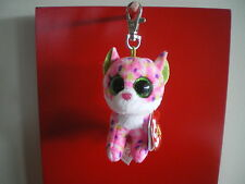 Ty Beanie Boos SOPHIE the cat 3 inch KEYCLIP NWMT. NEW RELEASE- IN STOCK NOW