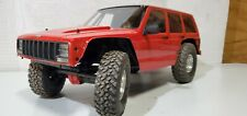 "NEW Axial SCX10 II SCX10 2000 Jeep Cherokee Body .040"" Complete AX31337 wraith"