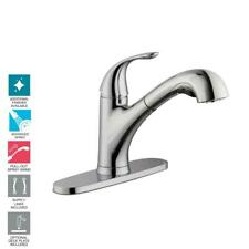 Glacier Bay Single-Handle Pull-Out Sprayer Kitchen Faucet Chrome 1001813686