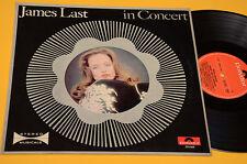 JAMES LAST LP 1° ST ORIG ITALY 1969 EX+ IN CONCERT