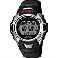 Casio G-Shock 200 Meter WR Solar Atomic Watch, Black Resin, Alarm, GWM500A-1V