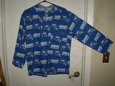 CUSTOM MADE NY GIANTS FOOTBALL PULL OVER FABRIC SHIRT