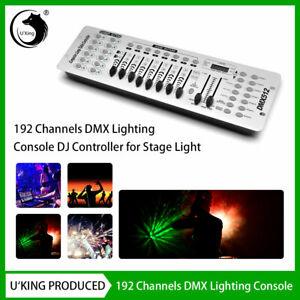 192 Channels Stage Light Controller Console DMX 512 Disco Party KTV DJ Nightclub