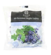 Baltus Candles Pack of 20 Tealight Night Light Candles With Lavender & Fresh Min