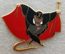 *2 LEFT* Fantasy Disney Pin - Ratigan - Great Mouse Detective. Disney mouse pin.