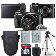 Canon PowerShot G7 X Mark II Digital DIGIC 7  WiFi Camera + Tripod - 32GB Kit