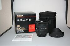 sigma ex 10-20mm f4-5.6 dc sld glass hsm