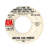 MELVIN VAN PEEBLES: Lilly Done The Zampoughi Soul Sample 45 HEAR!