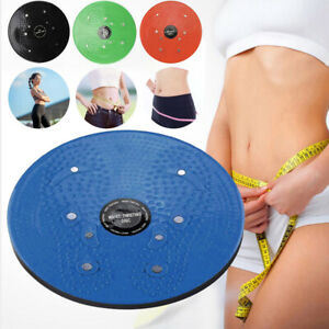 Twist Exercise Board Waist Torsion Disc Aerobic Fitness Reflexology Magnets UK