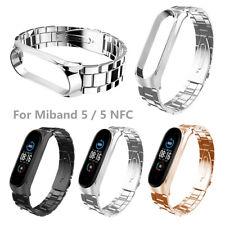 Para Xiaomi Mi Band 5/5 NFC de correa de pulsera reloj acero inoxidable NFC