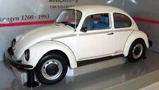 Véhicules miniatures blancs pour Volkswagen 1:18