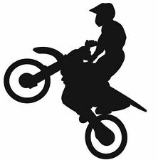 (Nr246)SPORT FREESTYLE MOTOCROSS BIKE DECAL VINYL STICKER WALL WINDOW TRUCK CAR