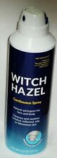 1 Can WITCH HAZEL Continuous Spray Natural Astringent Cleans Soothes Skin 6 oz