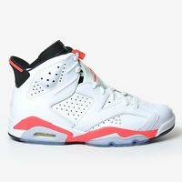 Air Jordan 6 Retro White Infrared Black 2014 Red Men's VI 23 DS 384664-123