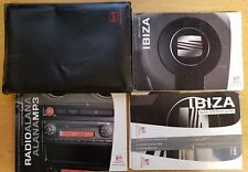 GENUINE SEAT IBIZA HANDBOOK OWNERS MANUAL WALLET 2006-2008 PACK B-582