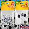 WIGGLY GOOGLY EYES WIGGLE GOOGLE FUN MIXED SIZES CARDS & CRAFT JUST GLUE ON
