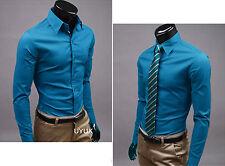 Herren Poloshirt Slim Fit Business Hochzeit Formal Figurbetont Hemde Shirts Tops