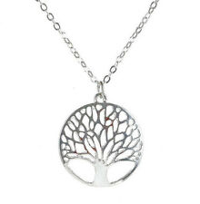 Tree of Life Necklace Silver Tone Bohemian Family Love Jewelry Pendant