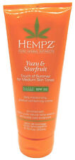 Hempz Yuzu & Starfruit Touch of Summer for Medium Tones Tanning Lotion 6.76 oz
