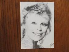 """ELKE  SOMMER (""""A SHOT IN THE DARK/THE PRIZE"""") Signed  4 1/2 x 5 3/4  B & W Photo"""