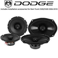 Dodge Ram Truck 2500/3500 2003-2005 OEM Car Speaker Upgrade NVX Speakers