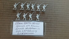 15mm Battle Honors Spanish Napoleonic Militia in Round Hat