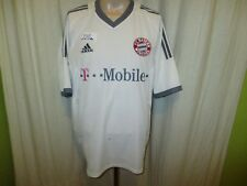 "FC Bayern München Original Adidas Auswärts Trikot 2002-2004 ""-T---Mobile-"" Gr.XL"