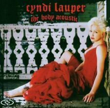 Lauper, Cyndi-The Body Acoustic DUAL DISC CD/DVD Nuovo OVP