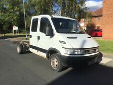 Iveco daily crew cab tipper 3litre diesel spares or repairs