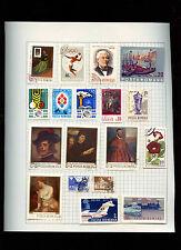 La Romania pagina dell' album di francobolli #V 2860