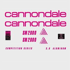 Cannondale SM2000 Decals, Stickers: n.910